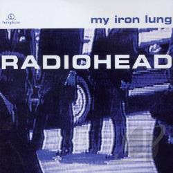 Radiohead - My Iron Lung CD Cover Art