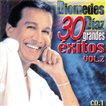 Diaz, Diomedes - 30 Grandes Exitos, Vol. 2 CD Cover Art