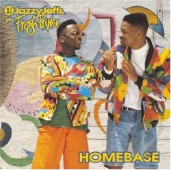 DJ Jazzy Jeff & Fresh Prince - Homebase CD Cover Art