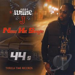 J, Willie - 44's CD Cover Art