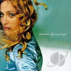 Madonna - Ray of Light CD Cover Art