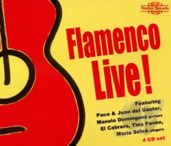 Flamenco Live! CD Cover Art