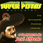 Grupo Musical De Exitos - Super Pistas Jose Alfredo Vol. 2 CD Cover Art
