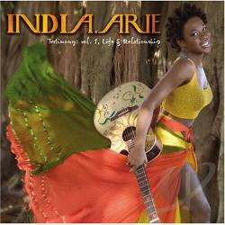 Arie, India - Testimony, Vol. 1: Life & Relationship CD Cover Art