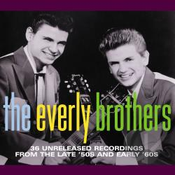 Everly Brothers - 36 Unreleased Recordings from the Late '50s and Early '60s CD Cover Art