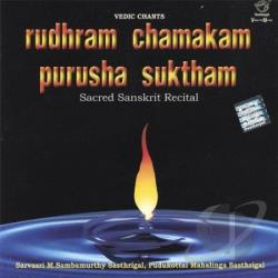 Vedic Chants:Rudhram Chamakam Purusha CD Cover Art