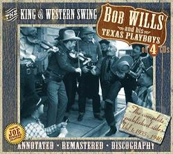 Wills, Bob / Wills, Bob & His Texas Playboys - King of Western Swing CD Cover Art