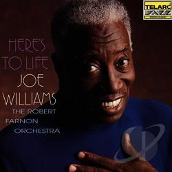 Williams, Joe - Here's to Life CD Cover Art