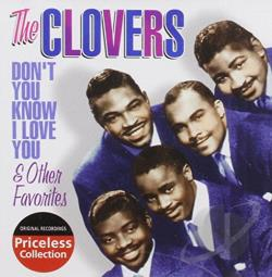 Clovers - Don't You Know I Love You & Other Favorites CD Cover Art