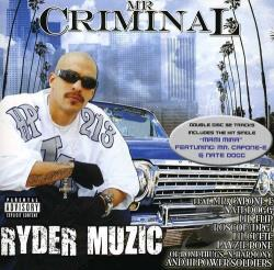 MR Criminal - Ryder Muzic CD Cover Art