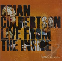 Culbertson, Brian - Live from the Inside CD Cover Art