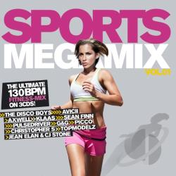 Sports Megamix - Vol. 1 - Sports Megamix CD Cover Art