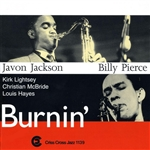 Jackson, Javon - Burnin' CD Cover Art