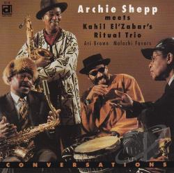 Shepp, Archie - Conversations CD Cover Art