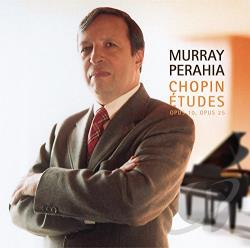 Chopin / Perahia, Murray - Chopin: Etudes, Opp. 10 & 25 CD Cover Art
