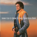 Cash, Johnny - Johnny Cash Is Coming to Town/Boom Chicka Boom CD Cover Art