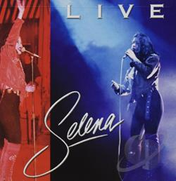 Selena - Live CD Cover Art