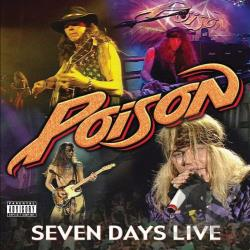 Poison - Seven Days Live CD Cover Art