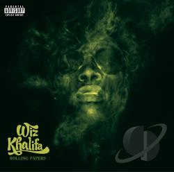 Khalifa, Wiz - Rolling Papers CD Cover Art