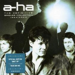 A-Ha - Definitive Singles Collection CD Cover Art