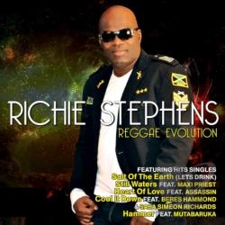 Stephens, Richie - Reggae Evolution CD Cover Art