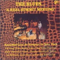 Blues... A Real Summit Meeting CD Cover Art
