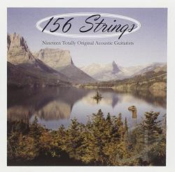156 Strings: Nineteen Totally Original Acoustic Guitarists CD Cover Art