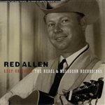 Allen, Red - Keep on Going: The Rebel & Melodeon Recordings CD Cover Art