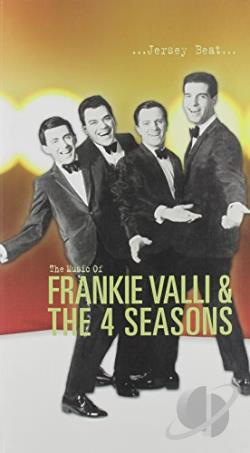 Valli, Frankie & The Four Seasons - ...Jersey Beat... CD Cover Art
