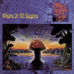 Allman Brothers Band - Where It All Begins CD Cover Art
