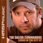 Saliva Commandos - Living In The City DB Cover Art