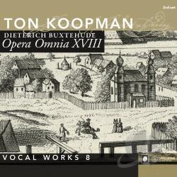 Amsterdam Baroqu / Koopman: cnd - Complete Works 18: Vocal Work CD Cover Art
