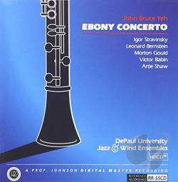 Yeh, John Bruce - Ebony Concerto CD Cover Art