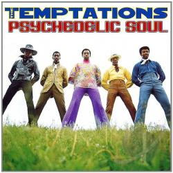 Temptations - Psychedelic Soul CD Cover Art