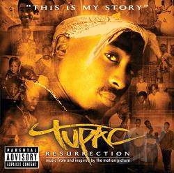 Tupac - Tupac: Resurrection CD Cover Art