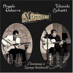 Debarre, Angelo - Memoires: Memories Of Django CD Cover Art