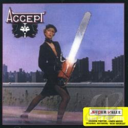 Accept - Accept CD Cover Art