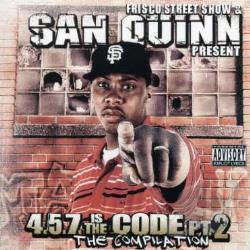 Quinn, San - 4.5.7 Is the Code, Pt. 2: The Compilation CD Cover Art
