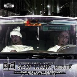 Southern Kappin Soldiers - Stop Light Muzik CD Cover Art