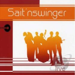 Live - Sait'Nswinger CD Cover Art