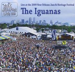 Iguanas - Jazz Fest 2009 CD Cover Art