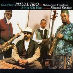 Ritual Trio - Africa N'Da Blues CD Cover Art