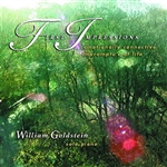 Goldstein, William - First Impressions-Emotionally Connective Impromptu's of Life CD Cover Art