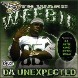 5th Ward Weebie - Da Unexpected CD Cover Art