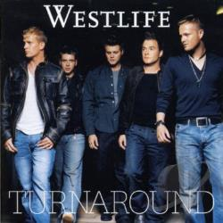 Westlife - Turnaround CD Cover Art