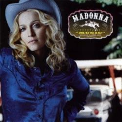 Madonna - Music LP Cover Art