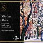 Cohen / Thill / Vallin - Massenet: Werther CD Cover Art