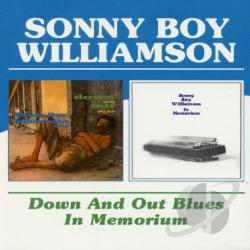 Sonny Boy Williamson II - Down and Out Blues/In Memorium CD Cover Art