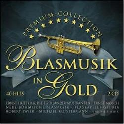 Blasmusik In Gold CD Cover Art
