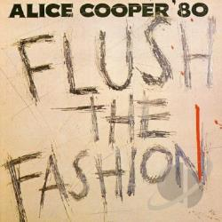 Cooper, Alice - Flush the Fashion CD Cover Art